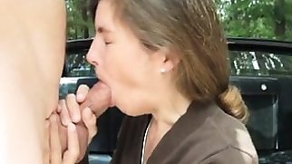 Cfnm amateur cock sucking facial