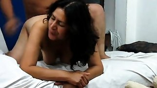 doggy style mature couple taking