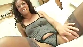 mom undresses and he fucks her