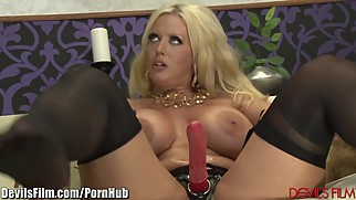DevilsFilms Busty MILF Pegs her Horny Bitch