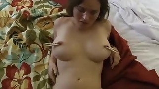POV Busty mistress mom ready for sex with son - WWW.HORNYFAMILY.ONLINE