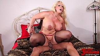 Alura Jenson Is Aching For A Cock