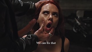 SCARLETT JOHANSSON GIVING BLOWJOB