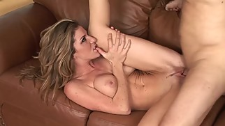 BIG TIT MILF LOVE TO FUCK STEP-SON