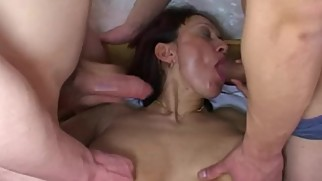 NastyPlace.org - Russian Step Mom Fucked With Son And Her Friend