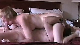 Hotel Creampie For Horny Stepmom